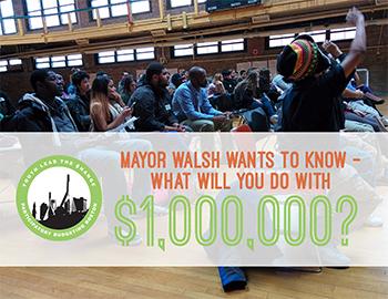 Boston youths meet to brainstorm city improvements