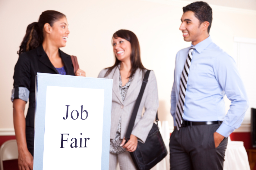 Youth at Job Fair